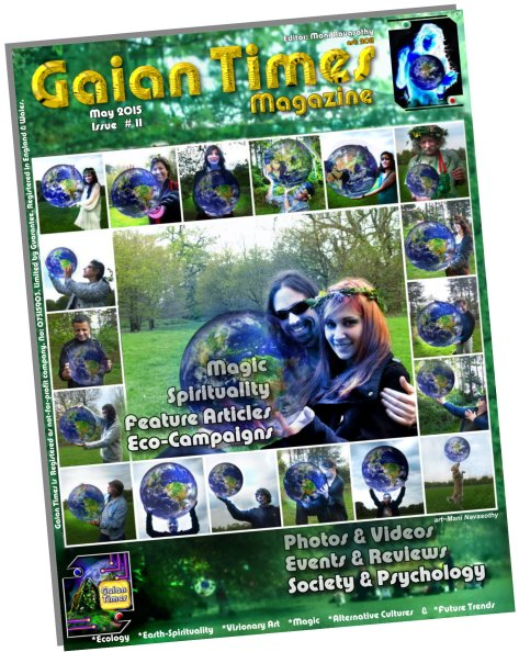 Gaian Times  #11  May 2015 Cover