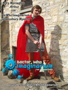 Rory King Arthur -DrWho Imaginarium Glastonbury Mystery (c)ManiN2014